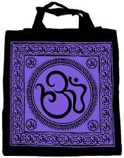 Sacred Om Purple Tote