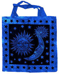 Sun Moon and Stars Tote