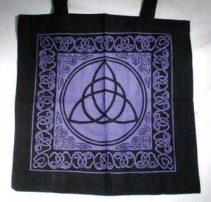 Triquetra With Celtic Knotwork Tote