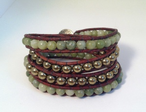 Jade Brass Wrap 1