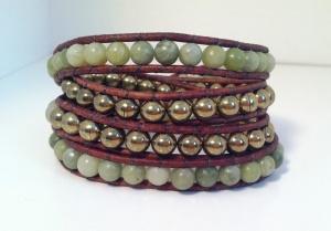 Jade  Brass Wrap 2