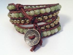 Jade  Brass Wrap 3