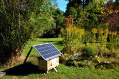 solar-panel-used-in-garden